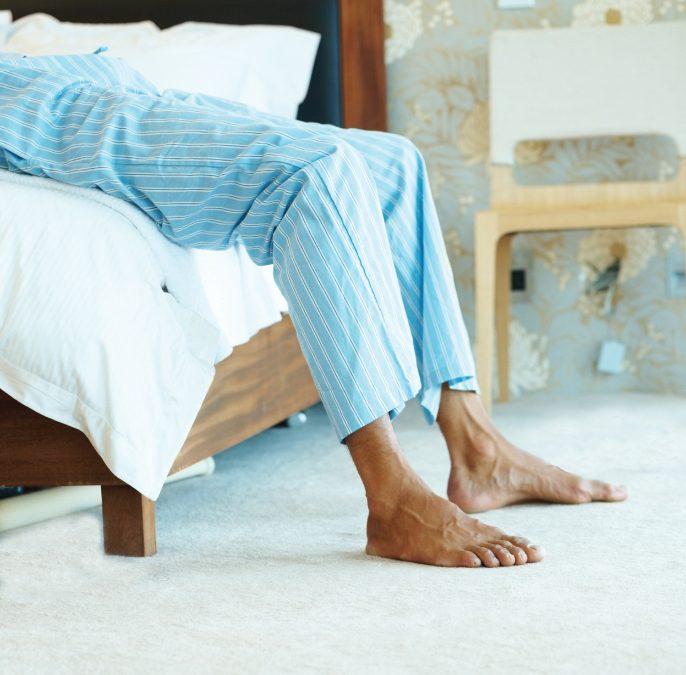 Waarom een hielspoor vooral in de ochtend pijn doet