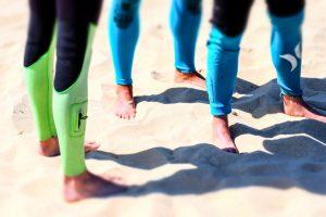 Strandwandeling tegen hielspoor
