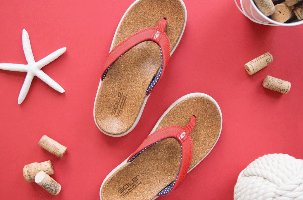 Slippers tegen hielspoor